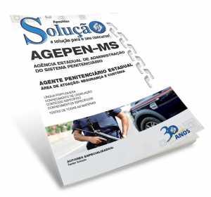 Apostila Agente Estadual AGEPEN MS