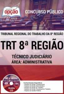 Apostila Técnico Judiciário Área Administrativa