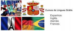 Curso Grátis de Inglês e outros Idiomas