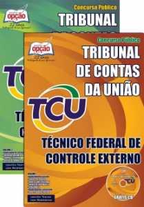 Apostila Concurso TCU Técnico Federal de Controle Externo