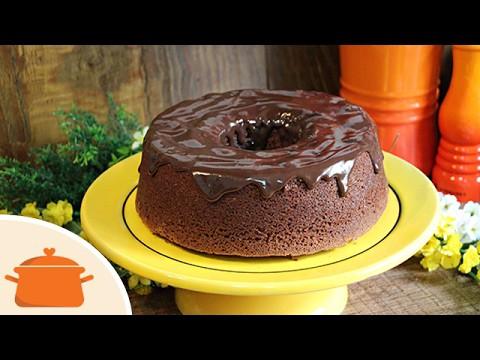 Como fazer bolo de Chocolate