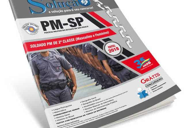 Apostila Concurso PM SP 2018
