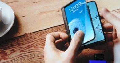 Celular Dobrável Samsung