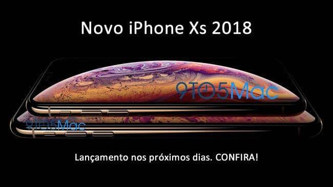 lançamento iPhone Xs 2018